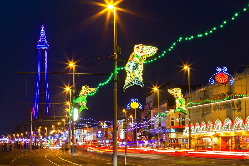 Blackpool Illuminations And Special Entertainment Breaks